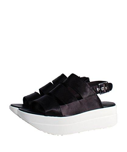 Vagabond Daria Sandal Black - Sandalo Nero Suola Bianco Black