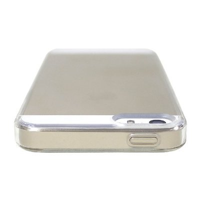 LUVVITT? CLEARVIEW Scratch-Resistant Slim Clear Back Case with Bumper / Cover for iPhone 5 / 5S (LIFETIME WARRANTY | Retail Packaging) - Crystal Clear farblos