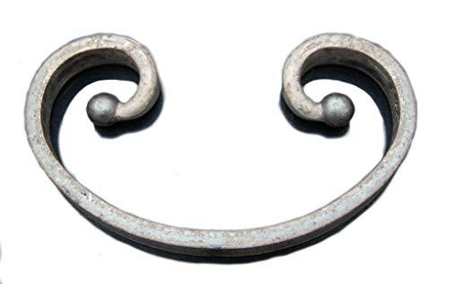 UHRIG ® C-Bogen schmiedeeisen Schnörkel Ornament NEU #584