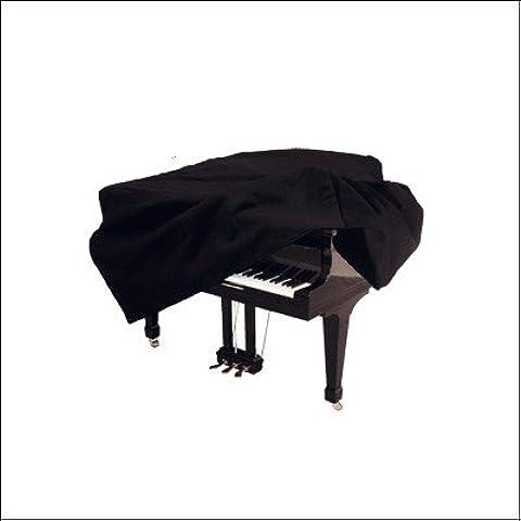Ortola 1002--001 - Funda piano cola 197 cm, color negro