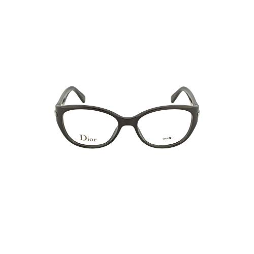 Dior Für Frau Cd3246 / Timeless Dior Oval Shiny Black Kunststoffgestell Brillen