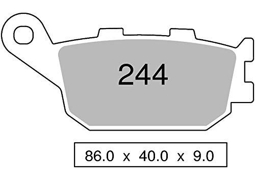 COPPIA PASTIGLIE FRENO TROFEO ORGANICHE per HOND. / KAWASAKI/SUZU. / YAMAHA 43024400 per Moto e/o Scooter (vedi elenco applicazioni nella descrizione prodotto)