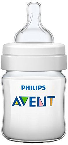 Philips Avent SCF560/17 - Biberón Classic+ de 125 ml, tetina de flujo...