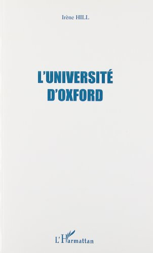 L'université d'Oxford par Irène Hill