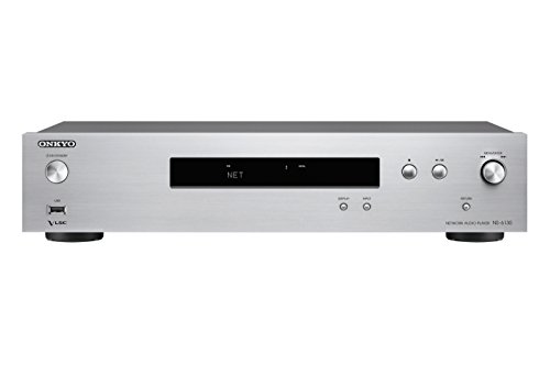 Onkyo NS-6130-S - Reproductor en Red Hires (Chromescast, Airplay, Tidal, Deezer) Color Plata