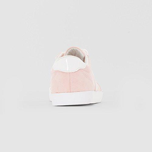Flache Mdchen Abcd'r Sneakers Rosa Abcd'r Flache Mdchen qBwwx4vZ