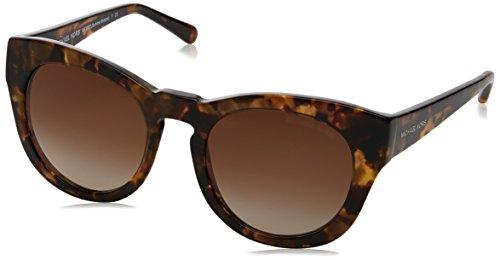 Michael Kors Damen Summer Breeze 321013 50 Sonnenbrille, Brown Medley/Smokegradient