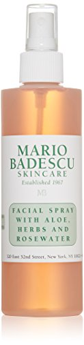 Mario Badescu Facial Spray With Aloe, Herbs & Rosewater - For All Skin Types 236ml - Hydrating Facial Mist