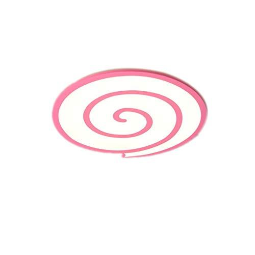 MGMDIAN LED-Deckenleuchte - Mädchenraumlampe - Kindergartenlampe - Lutscher - rosa Lampe Kreative ultradünne Deckenleuchte