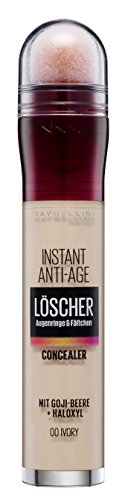 Maybelline New York Instant Anti-Age Effekt Concealer Nr. 0 Ivory, 6.8 ml