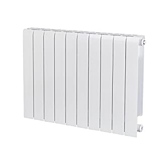 Alessia ALH 580-800 Designer Aluminium Horizontal Radiator, White
