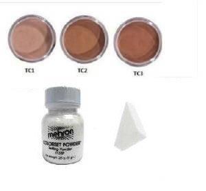 Mehron - Cache Cerne Professionnel Crème En Pot TC1 TC2 TC3 - TC1