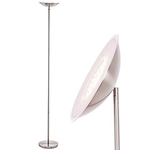 LED 18 Watt Decken Fluter Steh Stand Lampe Dimmer Spot drehbar EGLO 75089