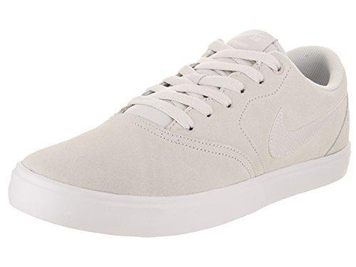 Nike Herren Check Solarsoft Sneaker, Grau hellgrau, 46 EU (Nike Wildleder Schuhe)