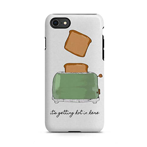 artboxONE Apple iPhone 8 Tough-Case Handyhülle It's Getting Hot in Here von Orara Studio