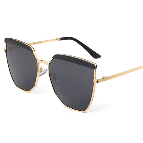 YGyanjing Hot Sonnenbrille UV-Schutz Brillen Sun Schutz Polarisierte Light Shopping Tourismus Retro Damen Fashion voller UV400 a