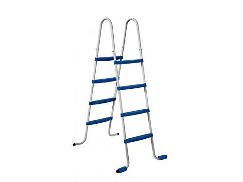 Piscinas Toi 4870 Escalier de 8 marches pour piscines Amovibles, 82 x 68 x 145 cm, Blanc