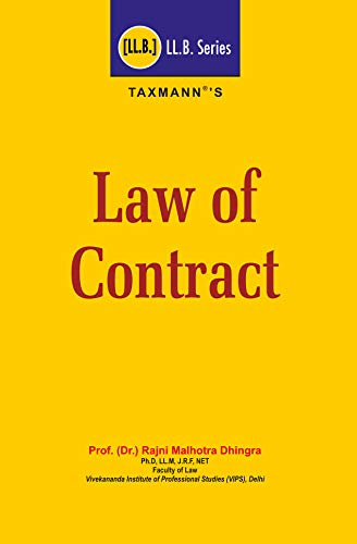 Law of Contract (LL.B. Series) (2018 Edition) (English Edition)