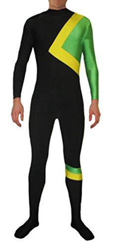 Howriis Unisex Jamaika Rodel Fancy Dress Kostüm für Erwachsene und Kinder Mehrfarbig A Style Kinder ()