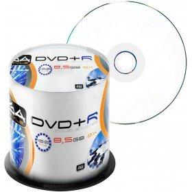 Preisvergleich Produktbild 100 Omega Freestyle DVD+R DL 8,5GB 8x Speed Print.