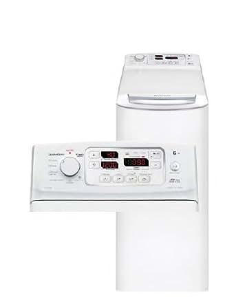 brandt wtc 1299 sf lave linge par le dessus pose libre 40 cm 6 kg 1200 trs mn a blanc. Black Bedroom Furniture Sets. Home Design Ideas