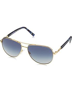 MICHAEL KORS Sabina Iii, Gafas de Sol Unisex, Gold 10244L, 59