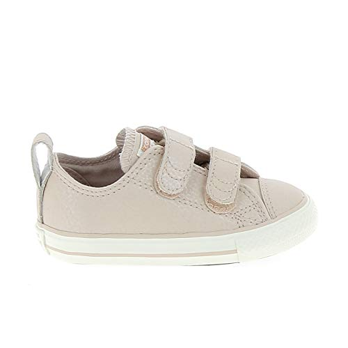 Converse Chuck Taylor CTAS 2v Ox Leather, Chaussures de Fitness Mixte Enfant