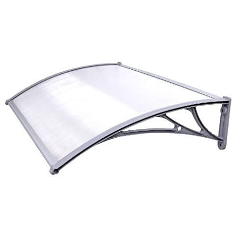 Songmics Door Canopy Awning Patio Cover Shelter 125 x 75 cm GVH017