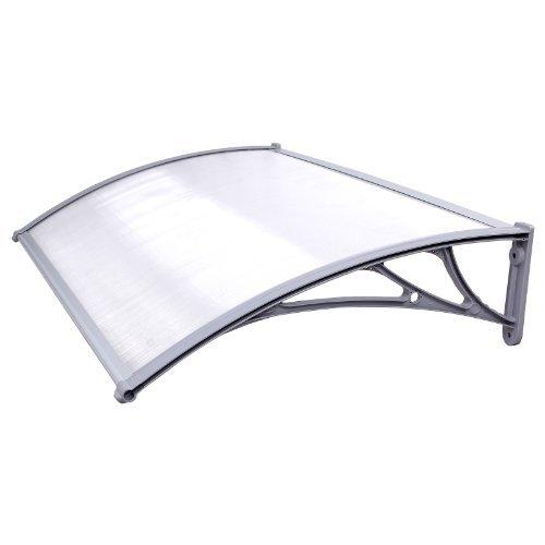 Songmics 125 x 75 cm pensilina tettoia tenda cappottina gvh017
