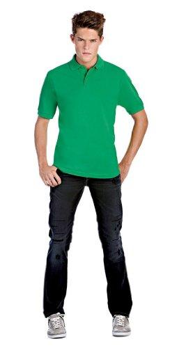 Piqué Poloshirt 'Safran' Kelly Green