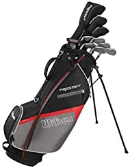 Wilson Mens Prostaff HDX Golf Package Set (Graphite Shaft) 2017 Mens RH Mens RH