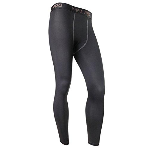 Moresave Mens compressione INTIMO pantaloni ghette strette mutande