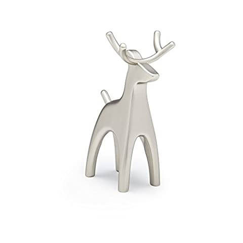 Umbra 299116-153 Anigram jewelry holder moose , nickel