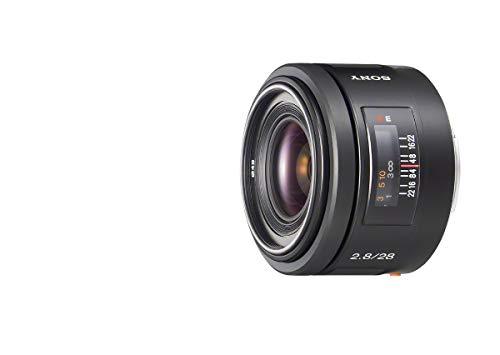 Bild 1: Sony SAL-20F28, Ultra-Weitwinkel-Objektiv (20 mm, F2,8, A-Mount Vollformat, geeignet für A99, A77, A68 Serie)