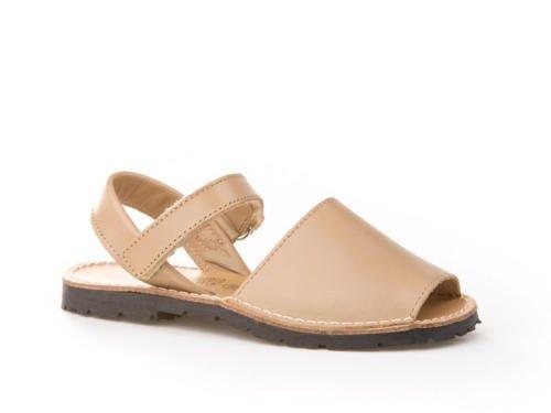 Sandalias Menorquinas para Niños y Niñas Unisex. Calzado infantil Made in Spain, garantia de calidad. (34, Camel)