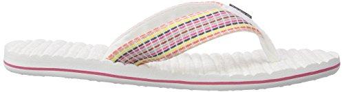 O'Neill  FTW EVIE, Tongs pour femme - Multicolore - Mehrfarbig Multicolore - Mehrfarbig (1030 Powder Whi)