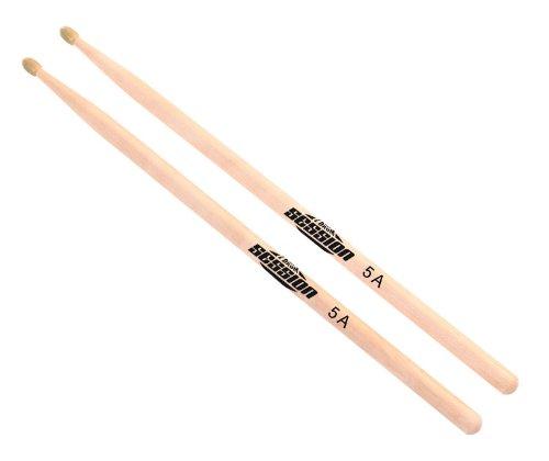 XDrum Schlagzeug Sticks 5A Nylon Tip (Nylonkopf, Länge: ca. 405 mm, Paar)