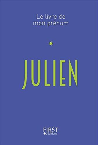 Le Livre de mon prénom - Julien