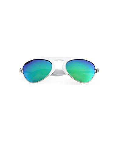 Kinder helle Sonnenbrille Männer und Frauen reflektierende Film polarisierte Sonnenbrille Kinder Sonnenbrille ( Farbe : 3 )