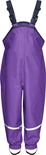 Playshoes Unisex - Baby Latzhose 405424 Regenlatzhose, Gr. 80, Violett (19 lila)
