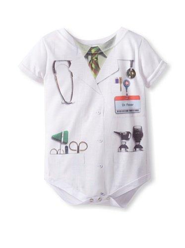 Faux Real Tees en Véritable bébé Doctor Costume