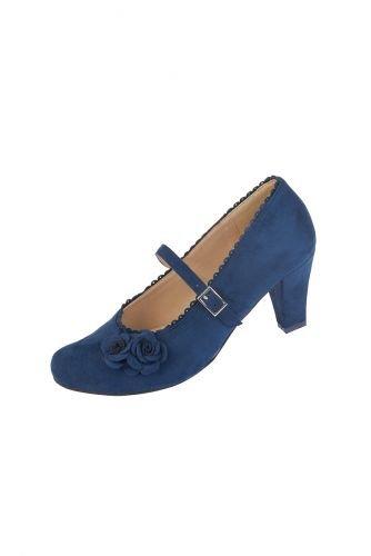 Pumps dunkelblau 001153 Schuhgröße 39