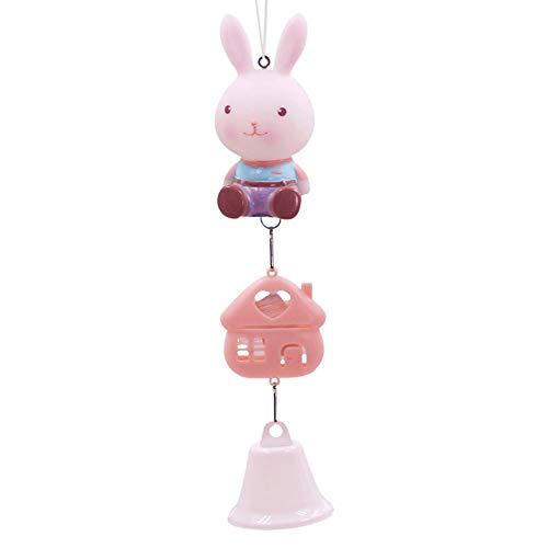 AlexsixKarikatur-Windspiel-Anime-Kaninchen-Windbell-Handwerks-hängende Dekorations-Verzierungen - Bell-bottom-kostüm