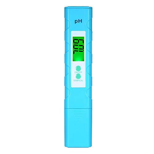 KKmoon PH Testeur Numérique Portable, Stylo Numérique PH Mètre, Testeur de Qualité et Température de l'eau de l'aquarium