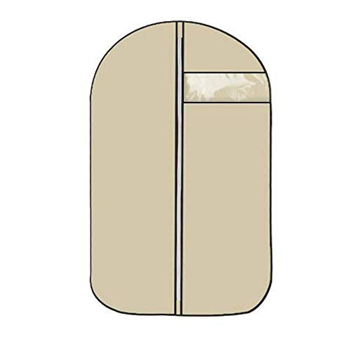 Pteng aufbewahrungskiste Box Kleidersäcke Staubschutzhülle Aufhängetasche transparent nach Hause Kleidung Decken beige Mantel 100 * 60cm Storage mit Deckel 90 * 60CM Cream Color (Tablet-cinch-7 Mit Tastatur)