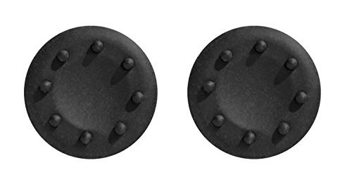 GADGETS WRAP Black Color Silicon Thumb Grip Caps for Xbox controller.