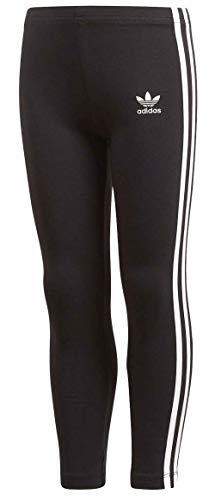 Adidas Originals Legging Mixte Enfant, Noir, Blanc,FR: 4-5 ans (taille fabricant: 110)