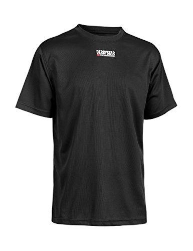 Derbystar Herren Trainingsshirt Basic Schwarz