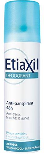 ETIAXIL Déodorant Antitranspirant sans alcool aérosol - 150 ml