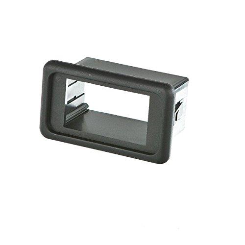CARLINGSWITCH Einbaurahmen für Schalter , Ausführung:Einzel schwarz